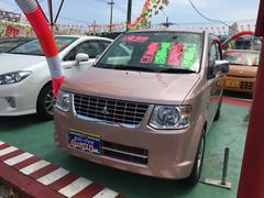 沖縄の中古車 三菱 eKワゴン 車両価格 64万円 リ済込 平成25年 3.8万K ピンク