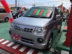 沖縄の中古車 日産 オッティ 車両価格 44万円 リ済込 平成22年 10.7万K シルバー