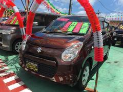 沖縄の中古車 スズキ アルト 車両価格 58万円 リ済込 平成23年 2.4万K ブラウン