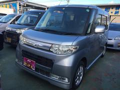 沖縄の中古車 ダイハツ タント 車両価格 58万円 リ済込 平成21年 8.2万K ブライトシルバーメタリック