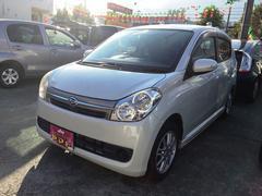 沖縄の中古車 ダイハツ ミラカスタム 車両価格 48万円 リ済込 平成21年 5.6万K パールホワイトIII