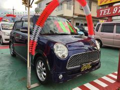 沖縄の中古車 ダイハツ ミラジーノ 車両価格 54万円 リ済込 平成19年 10.8万K ブルー