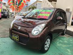 沖縄の中古車 スズキ アルト 車両価格 47万円 リ済込 平成23年 7.8万K マルーンブラウンパール