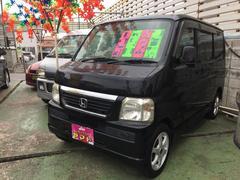 沖縄の中古車 ホンダ バモス 車両価格 58万円 リ済込 平成19年 8.6万K ブラック