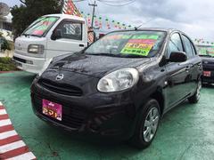 沖縄の中古車 日産 マーチ 車両価格 57万円 リ済込 平成23年 5.0万K ブラック