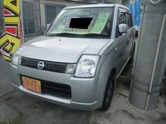 沖縄の中古車 日産 ピノ 車両価格 25万円 リ済込 平成21年 6.5万K シルバー