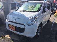 沖縄の中古車 スズキ アルト 車両価格 38万円 リ済込 平成22年 7.5万K ホワイト