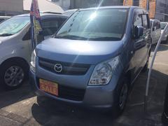 沖縄の中古車 マツダ AZワゴン 車両価格 39万円 リ済込 平成22年 8.8万K ブルー