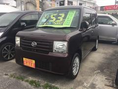 沖縄の中古車 ダイハツ ムーヴコンテ 車両価格 53万円 リ済込 平成21年 7.5万K ブラウン
