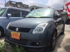 沖縄の中古車 スズキ スイフト 車両価格 25万円 リ済込 平成17年 10.5万K グレー