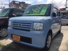 沖縄の中古車 ダイハツ ムーヴコンテ 車両価格 48万円 リ済込 平成21年 8.5万K ライトブルー
