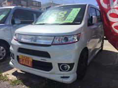 沖縄の中古車 スズキ ワゴンRスティングレー 車両価格 59万円 リ済込 平成23年 8.2万K パールホワイト