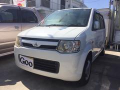 沖縄の中古車 三菱 eKワゴン 車両価格 21万円 リ済込 平成19年 13.3万K ホワイト