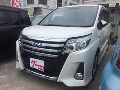 沖縄の中古車 トヨタ ノア 車両価格 298万円 リ済込 平成28年 2.1万K パール