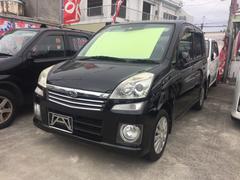 沖縄の中古車 スバル ステラ 車両価格 23万円 リ済込 平成20年 13.9万K ブラック