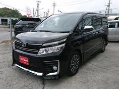 沖縄の中古車 トヨタ ヴォクシー 車両価格 249万円 リ済込 平成28年 2.2万K ブラック