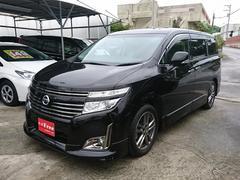 沖縄の中古車 日産 エルグランド 車両価格 258万円 リ済込 平成25年 4.4万K ファントムブラックP