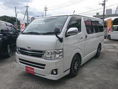 沖縄の中古車 トヨタ ハイエースバン 車両価格 185万円 リ済込 平成24年 12.2万K パールホワイト