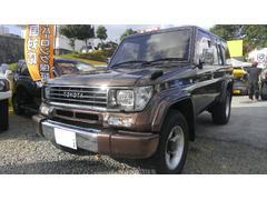 沖縄の中古車 トヨタ ランドクルーザープラド 車両価格 ASK リ済込 平成6年 14.2万K DブラウンM