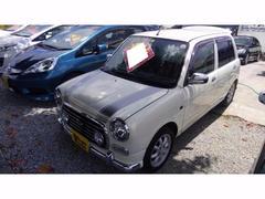 沖縄の中古車 ダイハツ ミラジーノ 車両価格 49万円 リ済込 平成14年 8.7万K パールホワイト