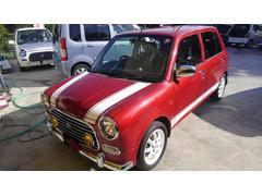 沖縄の中古車 ダイハツ ミラジーノ 車両価格 54万円 リ済込 平成14年 5.3万K レッドM