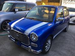 沖縄の中古車 ダイハツ ミラジーノ 車両価格 54万円 リ済込 平成14年 4.0万K ブルーM