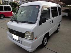 沖縄の中古車 スバル サンバーバン 車両価格 24万円 リ済込 平成19年 15.7万K ホワイト