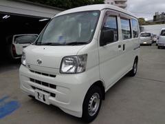 沖縄の中古車 ダイハツ ハイゼットカーゴ 車両価格 33万円 リ済込 平成21年 14.3万K ホワイト