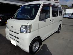 沖縄の中古車 ダイハツ ハイゼットカーゴ 車両価格 26万円 リ済込 平成20年 17.9万K ホワイト