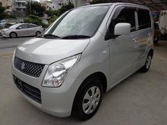 沖縄の中古車 スズキ ワゴンR 車両価格 37万円 リ済込 平成22年 9.3万K シルバー