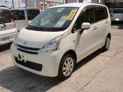 沖縄の中古車 ダイハツ ムーヴ 車両価格 49万円 リ済込 平成24年 6.6万K ホワイト