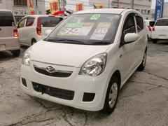 沖縄の中古車 ダイハツ ミラ 車両価格 29万円 リ済込 平成24年 6.8万K ホワイト