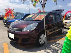 沖縄の中古車 日産 ノート 車両価格 65万円 リ済込 平成22年 8.2万K ブラウンM