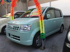 沖縄の中古車 日産 オッティ 車両価格 49万円 リ済込 平成24年 9.8万K Lグリーン