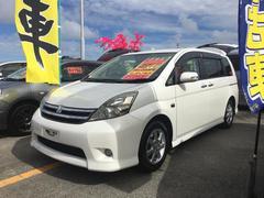 沖縄の中古車 トヨタ アイシス 車両価格 65万円 リ済込 平成20年 11.4万K パール