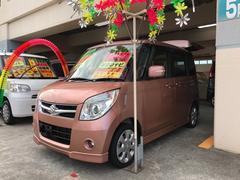 沖縄の中古車 スズキ パレット 車両価格 62万円 リ済込 平成20年 11.6万K ピンク