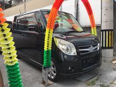 沖縄の中古車 スズキ パレット 車両価格 52万円 リ済込 平成20年 16.1万K ブラック