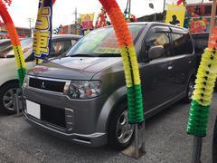 沖縄の中古車 三菱 eKスポーツ 車両価格 55万円 リ済込 平成23年 6.7万K グレーM