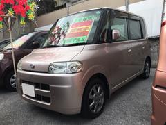 沖縄の中古車 ダイハツ タント 車両価格 49万円 リ済込 平成19年 12.6万K ピンク