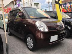 沖縄の中古車 日産 モコ 車両価格 28万円 リ済込 平成18年 11.6万K ブラウン