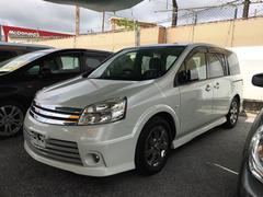 沖縄の中古車 日産 ラフェスタ 車両価格 55万円 リ済込 平成20年 10.3万K パール