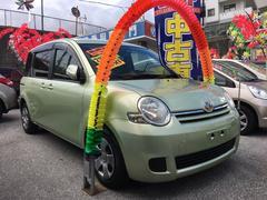 沖縄の中古車 トヨタ シエンタ 車両価格 49万円 リ済込 平成20年 10.0万K Lグリーン