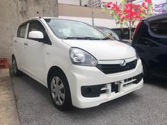 沖縄の中古車 ダイハツ ミライース 車両価格 48万円 リ済込 平成26年 10.1万K ホワイト