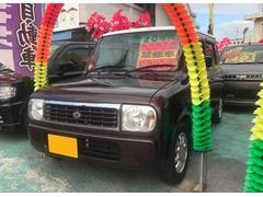 沖縄の中古車 スズキ アルトラパン 車両価格 45万円 リ済込 平成20年 8.9万K ブラウン