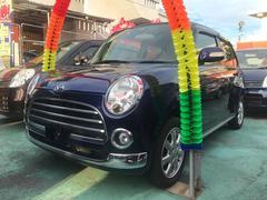 沖縄の中古車 ダイハツ ミラジーノ 車両価格 43万円 リ済込 平成18年 8.7万K ダークブルー