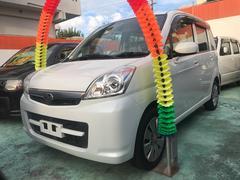 沖縄の中古車 スバル ステラ 車両価格 39万円 リ済込 平成22年 11.2万K パールホワイト