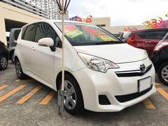 沖縄の中古車 トヨタ ラクティス 車両価格 65万円 リ済込 平成24年 6.9万K パール