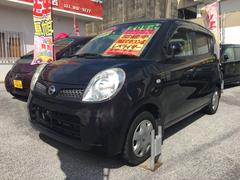 沖縄の中古車 日産 モコ 車両価格 37万円 リ済込 平成20年 12.2万K ダークパープル