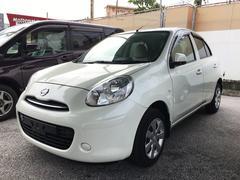 沖縄の中古車 日産 マーチ 車両価格 65万円 リ済込 平成25年 5.0万K パール