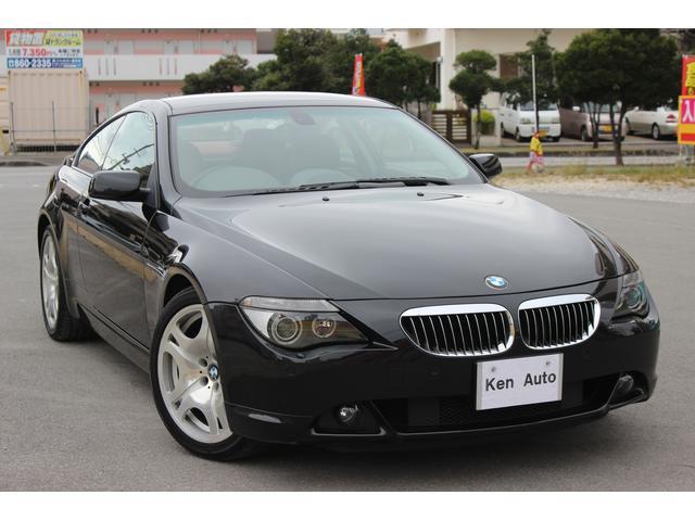 BMW 6シリーズ 645Ci ディーラー車黒革 サンルーフ 純正...